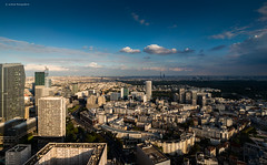 Paris (Julianoz Photographies) Tags: europe france capitale hautdeseine ladéfense paris cityscape vueaerienne buildings bâtiment building igh immeubles eiffeltower tourmontparnasse montparnassetower tourfirst majunga sky panthéon paname julianozphotographies