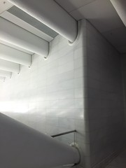 IMG_0649 (gundust™) Tags: nyc ny usa september 2016 newyork newyorkcity manhattan architecture wtc worldtradecenter calatrava station path wtctransportationhub transportationhub void oculus wings sculptural verticality white steel glass lighting sun alignment 911 september11 memorial