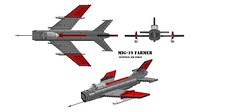 MiG-19 Farmer (Ninja Pilot) Tags: plane fighter force lego aircraft military air egypt corporation soviet egyptian farmer russian 19 mig gurevich mikoyan