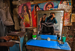 Selfshot Street Photography @ Subhash Salon (Shabbir Ferdous) Tags: road street old portrait people cinema color colour reflection hair mirror town photographer shot culture streetphotography barber posters salon dhaka tradition saloon selfshot bangladeshi travelphotography subhash subhas suvas suvash ef1635mm28liiusm shabbirferdouscom shabbrferdous canoneos1dmarkvi