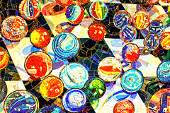 Marbles (Gary Burke.) Tags: nyc newyorkcity ny newyork color art station canon underground eos rebel artwork colorful manhattan mosaic broadway midtown tiles trainstation timessquare depot mta gothamist marbles subwaystation dslr theaterdistrict ind nycmta garyburke klingon65 t1i canoneosrebelt1i