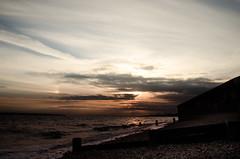 Solent 3 (Mark J Hall) Tags: longexposure sea seascape pebbles hampshire slowshutter 2012 gosport markhall stokesbay 18200mm thesolent vrii hitechreversegradfilter threeleggedthing leesoftgradndfilter hitechpro10stopndfilter