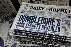 The Daily Prophet Propaganda (itsLJP) Tags: studio book alley tour dragon mail wizard harry potter ron owl quidditch bertie hermione granger voldemort botts dumbledore weasley butterbeer diagon wheezes ollivanders