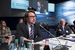 Andreas Scheuer takes part in the Opem Ministerial Session on Day 2 of the Summit