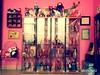 dolly room looking very ugly (girl enchanted) Tags: ikea vintage barbie shelf vitrine toyroom pinkroom verydarkinhere dollyroom yhuck