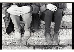 (weidong999) Tags: portrait bw stilllife feet home angel zeiss cat portraits dad hills contax mainecoon ritratti recanati halina ziggy biancoenero collina planar contrasto weidong contax139