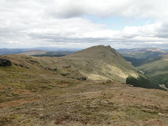 DSC02651 (David McSporran) Tags: dog mountains yellow scotland labrador ben scottish retriever peninsula grahams nan graham hillwalking cowal lub strath creag tharsuinn
