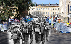 William Street, 1940 - 2012 (wallnutty) Tags: bath ghost present then now past superimposed bathintime