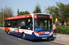 New Mansfield Miller (Moving Britain) Tags: kingsmill 36509 enviro200 mansfieldmiller fx12bnj