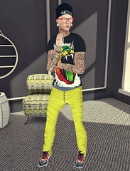 Wasted. (Rgd Svg) Tags: male men art fashion shirt hair beard photography fly blog belt cool artwork graphics shoes avatar style blogger avi fresh tattoos clothes sl secondlife bloggers mens only trend dope gangsta swag bless hunt appearance pekka tats jcruz nanuk zone3 blackfeet styleblog aitui moh2 juliancruz lookoftheday cheerno