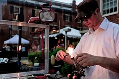 Glass Blowing Artist