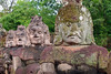 Angkor Thom Heads (nydavid1234) Tags: travel sculpture statue stone temple ancient ruins asia cambodia religion buddhism landmark angkorwat icon historical angkor carvings relic angkorthom d60 nydavid1234