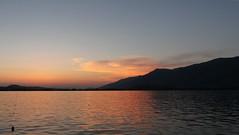 Ioannina lake at sunset (Tilemahos Efthimiadis) Tags: hellas greece 10mm ioannina   platinumheartaward  epeiros