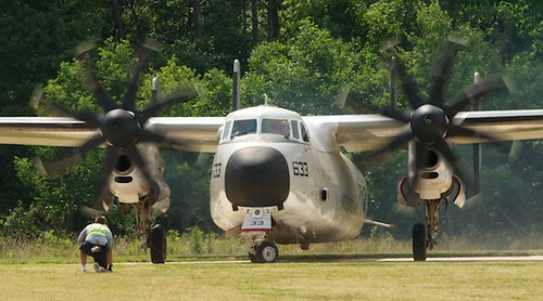 U.S. Navy Northrop Grumman C-2A Greyhound Turns Around