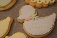 duck cookies (qualcosa di dolce) Tags: duck cookie eatercookies