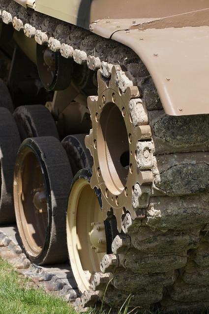 Drive Wheel of a M60A3 Tank