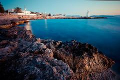 sunset in aigina (alphaios) Tags: sunset sea water canon meer sonnenuntergang 10 sigma greece mm 20 griechenland aigina 550d