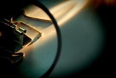 Undone (LeftCoastKenny) Tags: lomo clip magnifyingglass utata flashlight ironphotographer utata:project=ip154