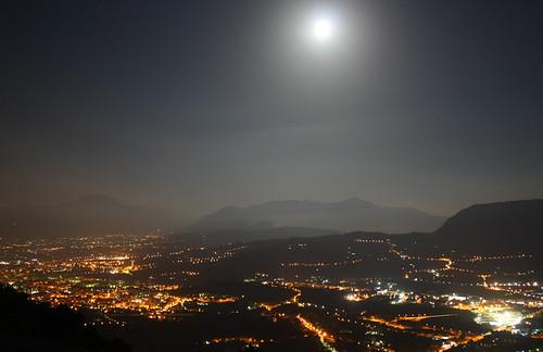 Montevergine, scatto notturno