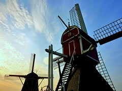 Greetings from Holland ! (Frans.Sellies) Tags: holland netherlands windmill utrecht nederland thenetherlands windmills mills paysbas olanda hulanda niederlande  hollandia oudzuilen   holandia hollanda pasesbajos pasesbaixos   alankomaat    nizozemsko  nyderlandai      nderlande p1350167