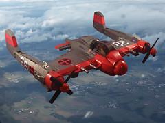 F-31 Vanguard (JonHall18) Tags: plane fighter lego aircraft scifi bomber moc skyfi dieselpunk