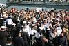 Marinebund begrüßt die GORCH FOCK nach Kaap Horn Umrundung (Deutscher Marinebund) Tags: deutschland marine kiel schleswigholstein gorchfock marinehafen heimathafen einlaufen segelschulschiff marinestützpunkt sssgorchfock begleitparade