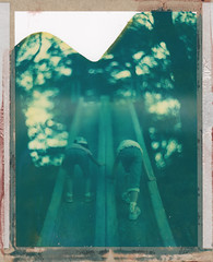 Slide (graflex45) Tags: analog vintage polaroid bokeh anniversary large instant expired graflex speedgraphic ektar 7inch peelapart 4×5 aeroektar 178mm