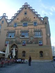 Ulmer Rathaus am Marktplatz (Bonn Truck) Tags: deutschland um juli ais indeutschland ulmerrathaus