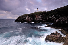 Tiumpan Head Lighthouse in the gloaming, Isle of Lewis (iancowe) Tags: morning light sea lighthouse eye night scotland twilight long exposure waves head board lewis scottish outer northern peninsula isle hebrides gloaming tiumpan stornoway northernlighthouseboard nlb lighthousetrek wbnawgbsct