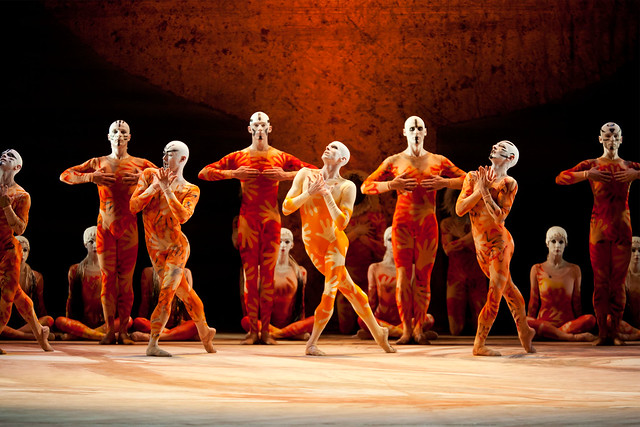 "Members of The Royal Ballet in Kenneth MacMillan's The Rite of Spring. The Royal Ballet 2010/11. <a href=""http://www.roh.org.uk"" rel=""nofollow"">www.roh.org.uk</a>"