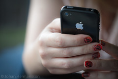 iNails (Clintans) Tags: apple canon nails iphone canon7d canon100mm28lisusm