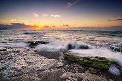 Manyar High Tide Wave 2 (eggysayoga) Tags: morning blue sea bali seascape beach water rock sunrise indonesia landscape dawn golden xpro nikon day wave tokina hour 121 116 atx cokin gnd gnd8 1116mm ketewel manyar d7000 x121s pwpartlycloudy