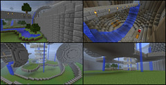 More Minecraft! (Exius_) Tags: house building brick fall home water grass waterfall bed bedroom mine lego room floating craft mein corporation more sphere float update corp stud kraft exo minecraft exius meinkraft