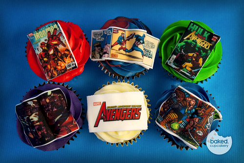 Marvel Avengers Cupcakes