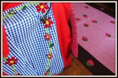 Nossa tarde foi cheia de lindezas! (Joana Joaninha) Tags: minasgerais love amor carinho oficina toalha costura aplicação joanajoaninha