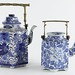 410. Blue & White Porcelain Teapots