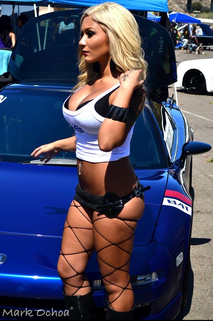 (marc ochoa) Tags: show car model san extreme diego scene bikini import  autofest