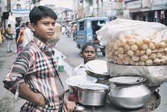 Pani Puri Birgunj (johnelbrando) Tags: nepal food 35mm nikon indian vendor 18 pani puri nepali dx birgunj d3000 madhesi