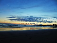 beach sunset. (amymcginn389) Tags: portrush beach sea landscape ocean atlantic reflection sand