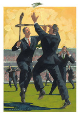 051021 (kevinmcsherryartist) Tags: gaa clg hurling hurl ciomniocht sliotar euro professional suit business humour game match leap competition businessmen commerce amateur pay remuneration stipend payment wages salary dublin irl ciomniocht