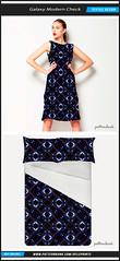 Galaxy Check Textile Pattern (Daniel Ferreira-Leites) Tags: futuristic check galaxy modern abstract geometric geometrical polygons dark textile pattern design patternbank print style shop buy