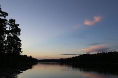 After ten (liisatuulia) Tags: porkkala sky evening calm sea clouds