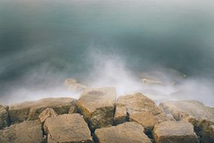 Tell me about the Sea, I asked you and you took me there. (Giovanni Convertino (shako)) Tags: sea nd filter long exposure esposizione lunga mare seascape