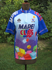 Mapei Clas 1994 (akimbo71) Tags: maglia maillot equipe fahrradtrikot jersey cycling proteam
