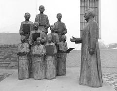 Chur d'enfants (Iris.photo@) Tags: espagne andalousie guadix statue sculpture chorale enfants