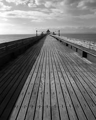 Clevedon Pier (Carl Hall Photography) Tags: 90mmf8superangulon clevedon delta100 hc110 hc110b ilford ilforddelta100 kodakhc110b largeformat nagaoka pier