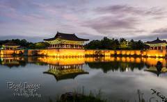 Reflection of old (Boyd Images) Tags: boydimagesphotography gyeongju korea nikond7100 southkorea architecture culture lights longexposure outdoors palace photography reflection traditional water