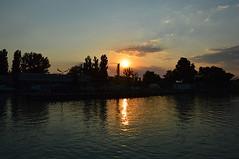 port sunset 2 (sunsetsra) Tags: balaton hungary lake nature water balatonboglar balatonboglr sunset sundown sky twilight waterscape