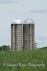 Pennsylvania Countryside (Framemaker 2014) Tags: silos barns farn garden fields whitehall pennsylvania columbia county united states america