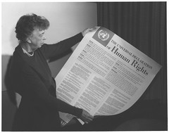 Eleanor Roosevelt and United Nations Universal Declaration of Human Rights (US Department of State) Tags: unitednations humanrights eleanorroosevelt firstlady humanitarian famousamericans